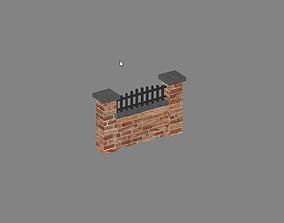 Fence 3D asset