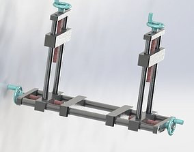 3D model Symmetry trimming biaxial mechanical structure