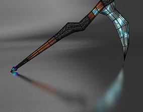 3D model scythe Lightning braid