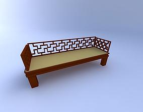 massage Bench 3D model