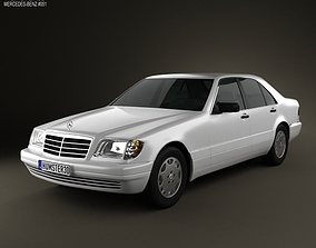 Mercedes-Benz S-class W140 1999 3D model