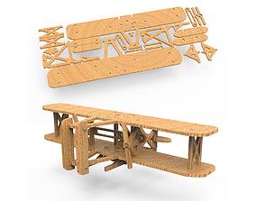 3D print model AIRPLANE KIT fan
