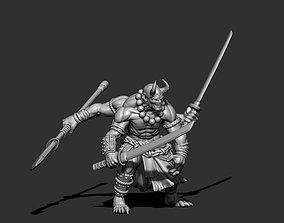 3D printable model figurines Oni 70mm