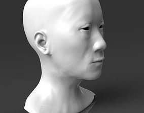 3D print model Detailed head 1