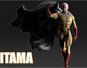 Saitama 3D Model