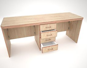 Desk office 3D
