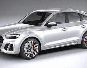 3D model Audi SQ5 Sportback 2021