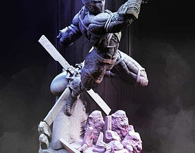 3D print model CAPTAIN AMERICA AND BLACK PANTHER