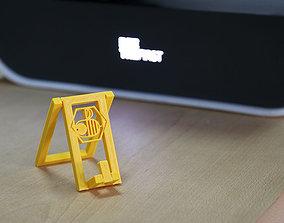 3D printable model Foldable Phone holder