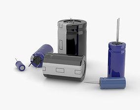 Capacitor 3D model part