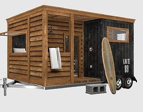 3D Surf house beach