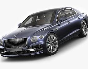 3D model Bentley Flying Spur 2020