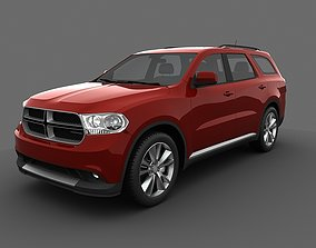 car Dodge Durango 2011 3D