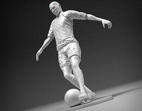 3D printable model Footballer footkick 01 stl