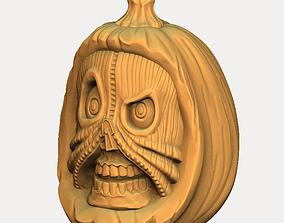 3D print model pumpkin 3
