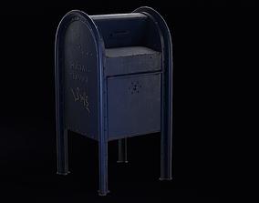 3D model realtime Mailbox mailbox