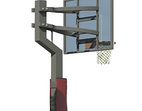 hoop Basketball Hoop 3D