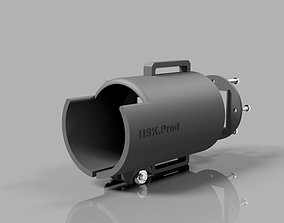 Angle Sight Riflescope with GoPro Hero 3D print model