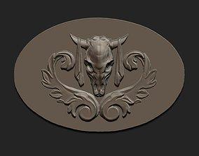 3D print model buckle Cowboy