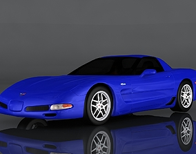 3D model chevrolet corvette Z06