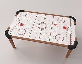 Air Hockey Table 3D model