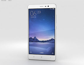 3D model Xiaomi Redmi Note 3 Silver