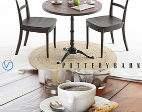Pottery Barn Rae and Cline set 3D model