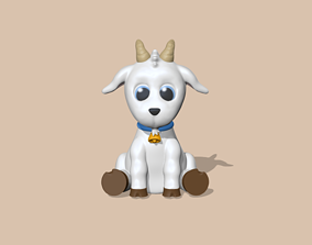 3D print model A Cute Goat to decorate and play