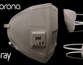 3D 3M Surgical Mask - N95 Medical Face Mask
