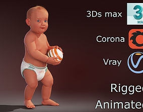 Baby for sale 3D animated