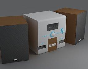 3D model Custom Brand Stereo