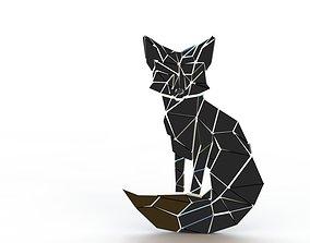 Fox Wall Decor 3D printable model houseware