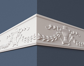peterhof 3D model Frieze
