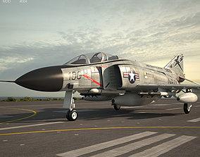 f4 3D McDonnell Douglas F-4 Phantom II