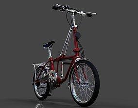 Folding bike 3D model