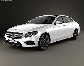 3D Mercedes-Benz E-Class V213 L 2017