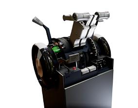 B737 Throttle 3D