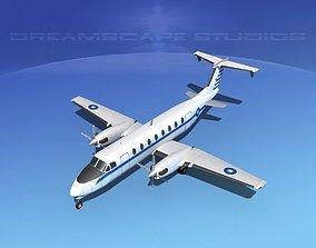 Beechcraft C-12J Huron China 3D