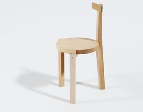 Girafa chair - brazilian furniture design 3D