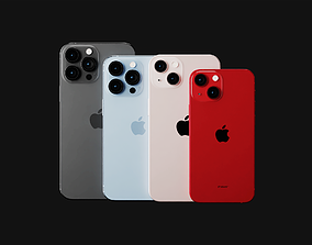 3D Ultimate Apple iPhone Collection Official Colors and 1