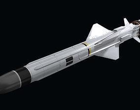 3D asset Exocet MM40