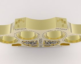 3D print model cosplay Holy Brass Knuckles