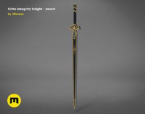 3D print model Kirito sword - Integrity Knight