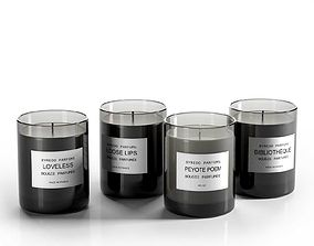 3D model Candle Perfumes Set