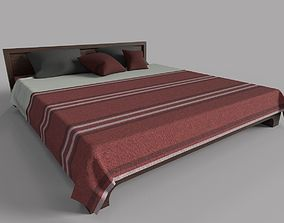 Ethnic Bed 3D asset