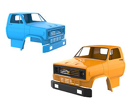 3D printable model Chevrolet C70 1984