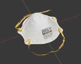 N95 Dust Mask - Photo Scan 3d 3D