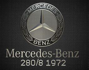 3D mercedes benz logo 4