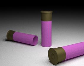 Pink Shotgun Shells 3D model