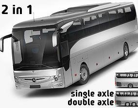 3D model Mercedes Tourismo 2017
